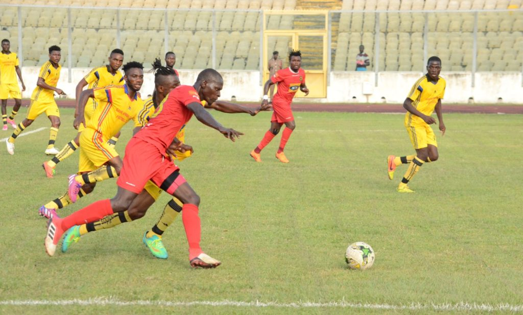 Kotoko thump Inter Allies FC 3-0 as part of preparations ahead of CAF Confederations Cup