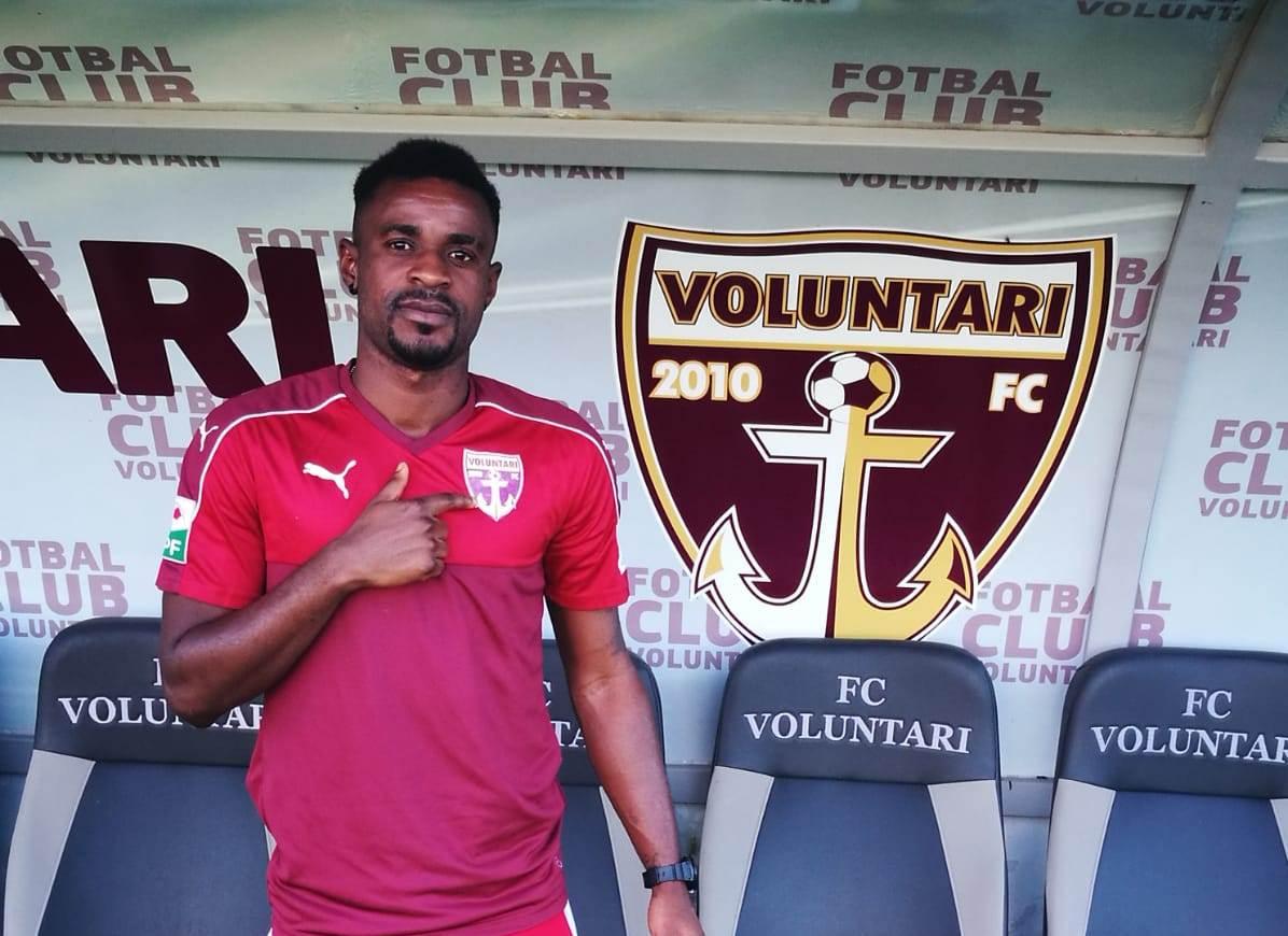 Ghanaian striker Richard Gadze opens scoring account for FC Voluntari in Romania