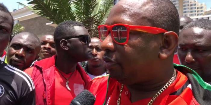 Nairobi Governor Mike Sonko pledges Ksh3 million to Harambee Stars, gives fans lunch