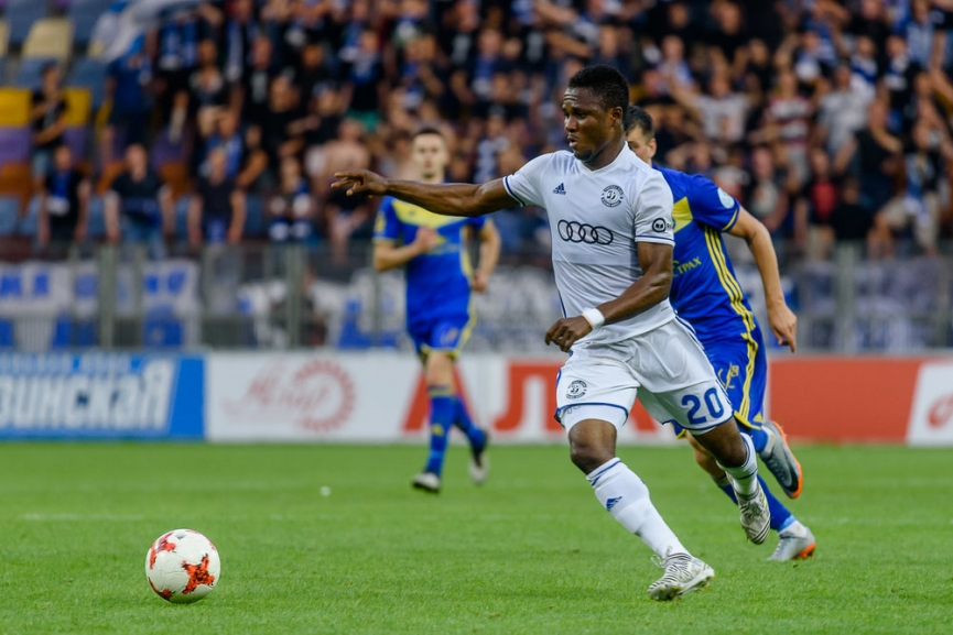 VIDEO: Watch Joel Fameyeh's double for Dinamo Brest against Slutsk in Belarusian top flight - Ghana Latest Football News, Live Scores, Results - GHANAsoccernet
