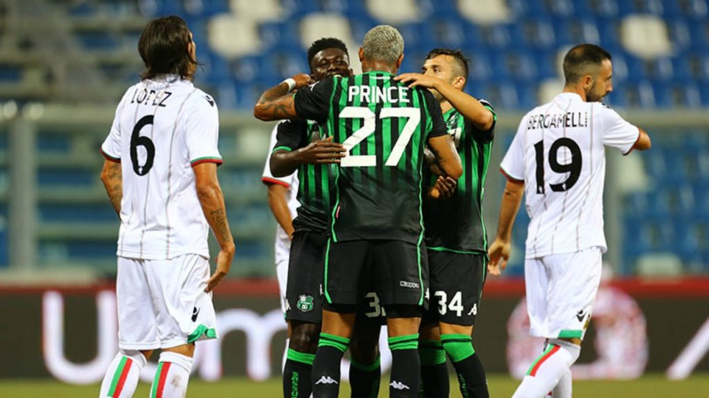 Duncan and Boateng remain injury doubts for Sassuolo's clash with Torino in Serie A
