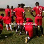 Asante Kotoko thrash Cedar Valley FC in friendly