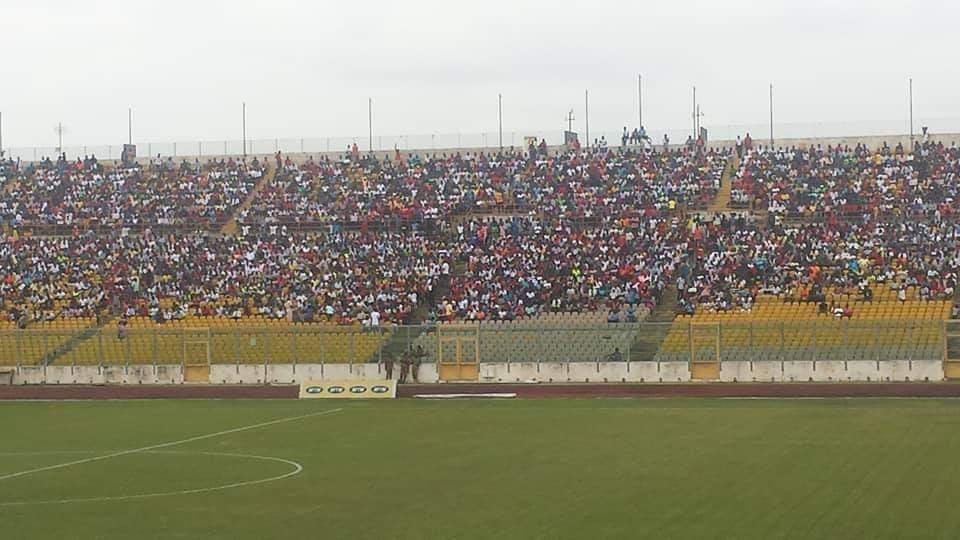 Massive attendance in Black Stars thrashing of giants Asante Kotoko