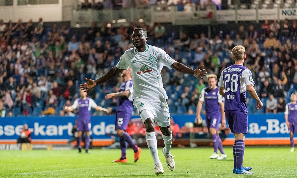 Ghanaian forward Jonah Osabutey on target as Werder Bremen draw against SV Drochtersen