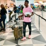 Breaking News: Hearts contract rebel Samudeen arrives in Angola for Petro Atletico switch