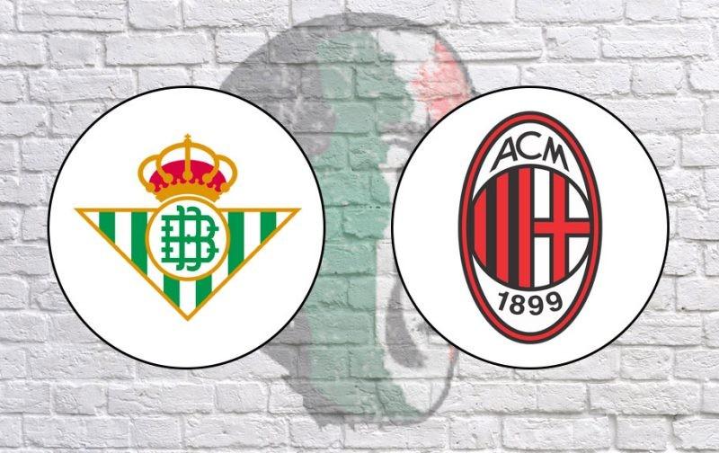 LIVE: Real Betis v AC Milan