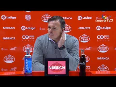 Rueda de prensa de Cristóbal Parralo tras el CD Lugo vs AD Alcorcón (0-1)