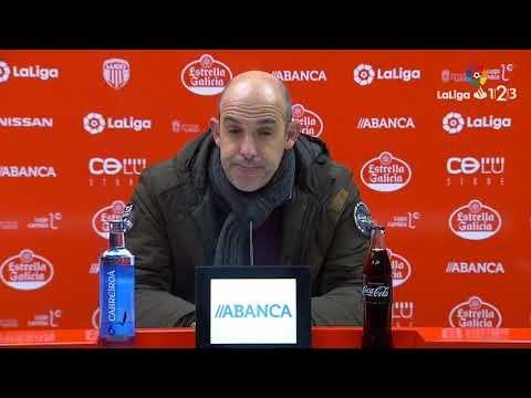 Rueda de prensa de Jiménez Monteagudo tras el CD Lugo vs AD Alcorcón (0-1)