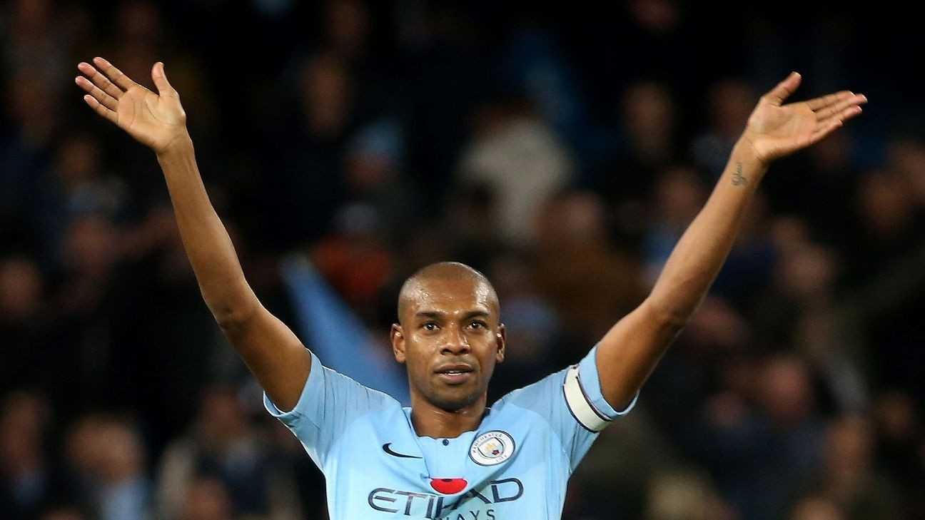Image result for pep fernandinho