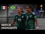 Mexico v Brazil  - FIFA U-17 Women's World Cup 2018™ - Group B