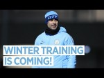 WINTER IS COMING | Man City Training