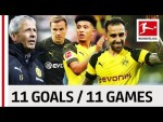All Borussia Dortmund's Substitution Goals So Far - Alcacer, Sancho & More