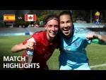 Spain v Canada  - FIFA U-17 Women's World Cup 2018™ - Group D