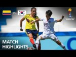 Colombia v Korea Republic  - FIFA U-17 Women's World Cup 2018™ - Group D