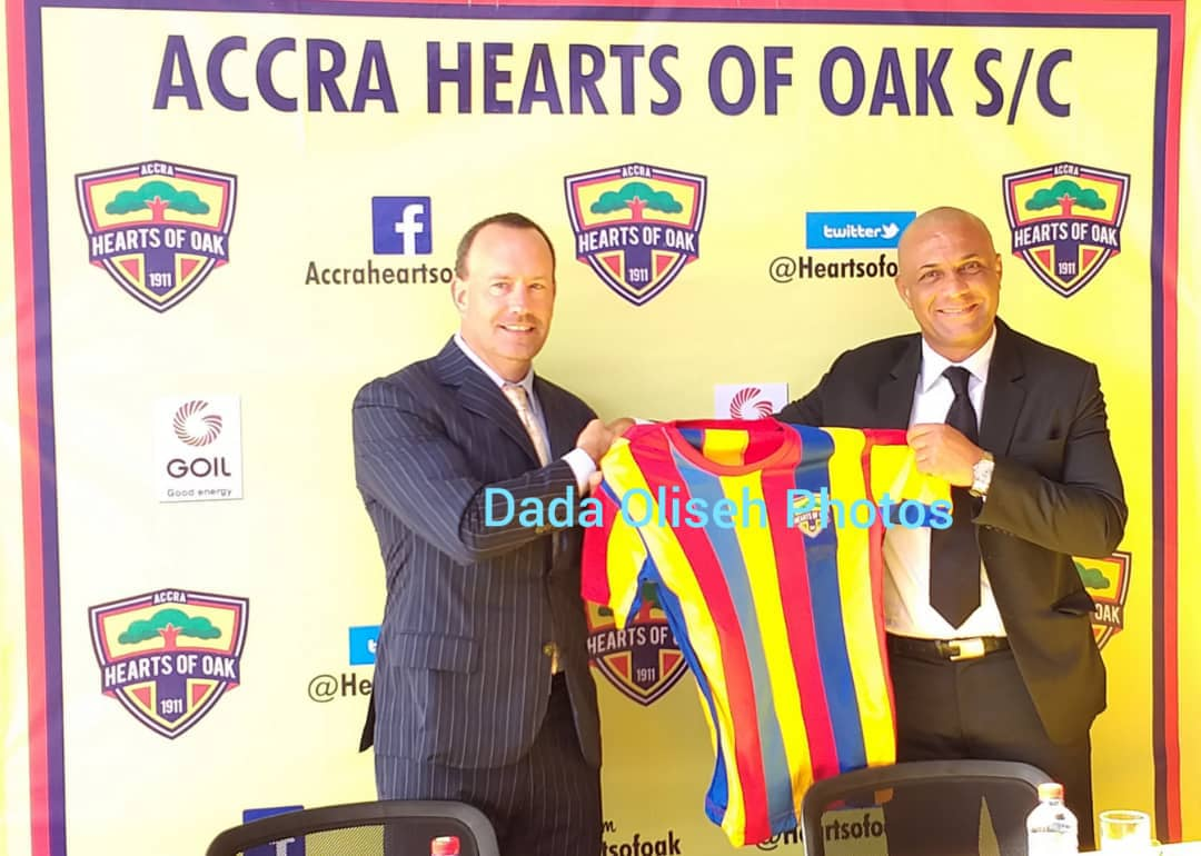 OFFICIAL: Hearts of Oak unveil Kim Grant as new coach
