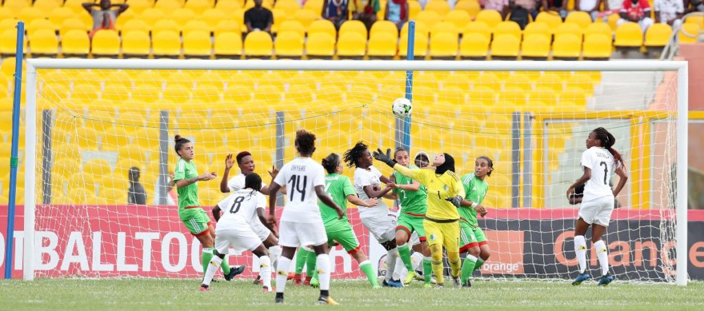 VIDEO: Watch highlights of the Black Queens 1-0 victory over Algeria in AWCON 2018 opener