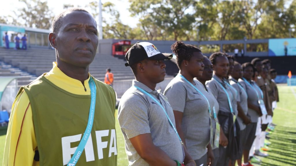 FIFA U17 WWC: Black Maidens coach Evans Adotey happy with 100% record after New Zealand win