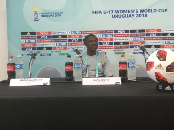 FIFA U17 WWC: Black Maidens coach Evans Adotey credits tactical discipline for victory over Uruguay