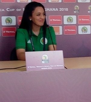 AWCON 2018: Algeria Captain Myriam Benlazar unfazed by home support ahead of Ghana clash