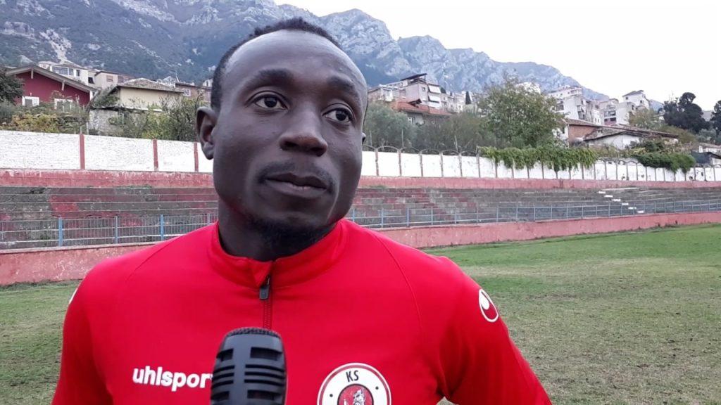 Ghanaian striker Charles Atsin confident Kastrioti Krujë will avoid relegation in Albania