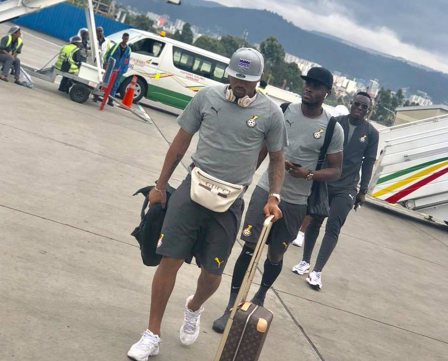 AFCON 2019 qualifiers: Black Stars arrive in Addis Ababa ahead of Ethiopia clash