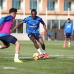Ghana midfielder Bernard Mensah returns to Kayserispor training ahead of Alanyaspor clash