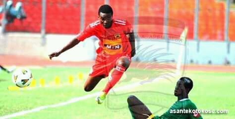 Yaw Frimpong excluded from Asante Kotoko CAF Confederation Cup squad-list