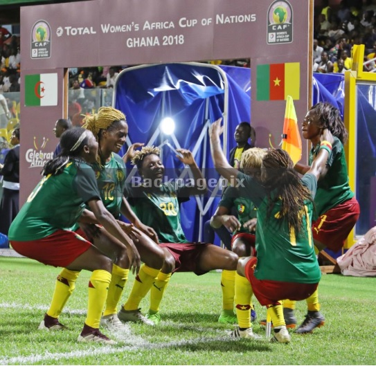 AWCON 2018: Cameroon dispatch Algeria to book tournament\'s first semi-final ticket