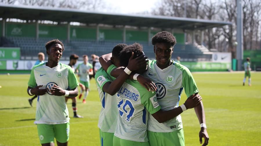 Ghanaian prodigy Charles-Jesaja Herrmann on target for Wolfsburg U19 in win over TSV Havelse