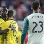 Heartbreak for Harrison Afful and Jonathan Mensah as Columbus Crew exit MLS playoffs