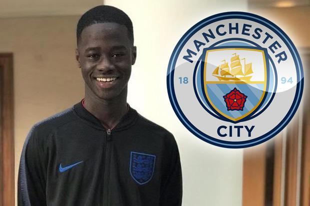 Manchester City pip Arsenal to signing of Ghanaian prodigy Darko Gyabi