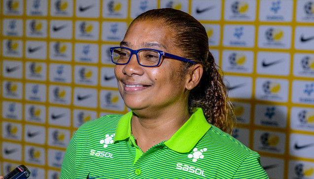 AWCON 2018: Banyana Banyana coach Ellis Desiree delighted with side\'s calmness ahead of Equatorial Guinea clash