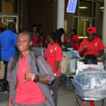 PHOTOS: Black Queens arrive in Nairobi for pre-AWCON friendly against Kenya
