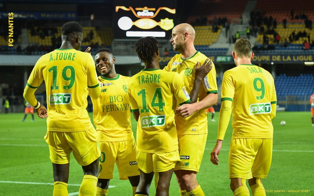Video: Watch Nantes striker Majeed Waris' first league goal of the season
