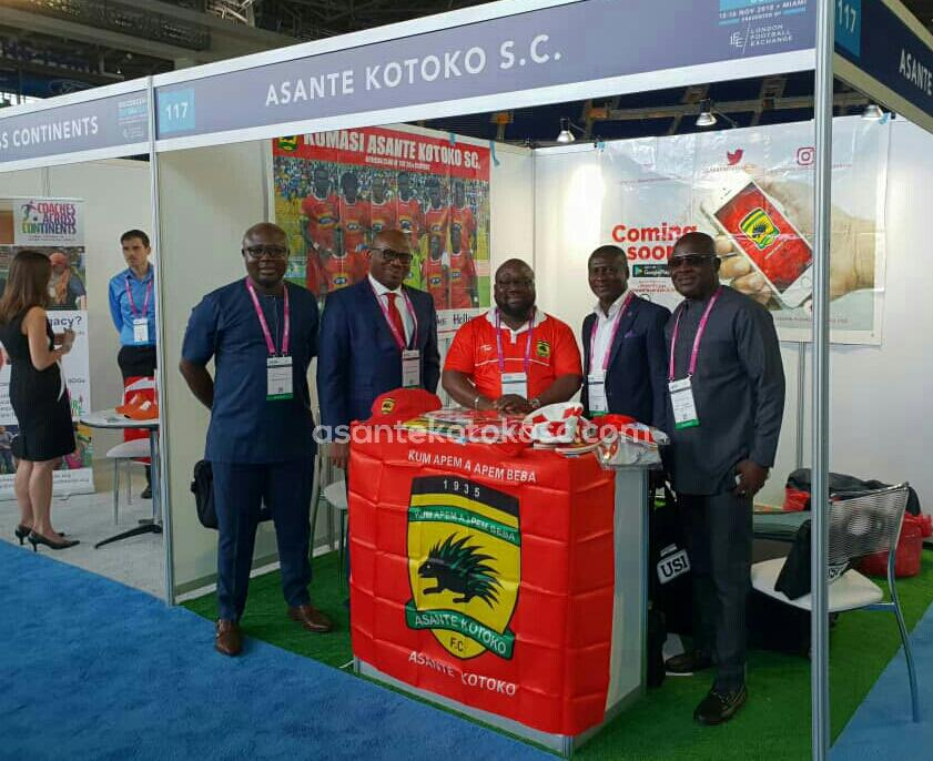Asante Kotoko hope to benefit immensely from Soccerex trip- club's policy analyst Amo Sarpong