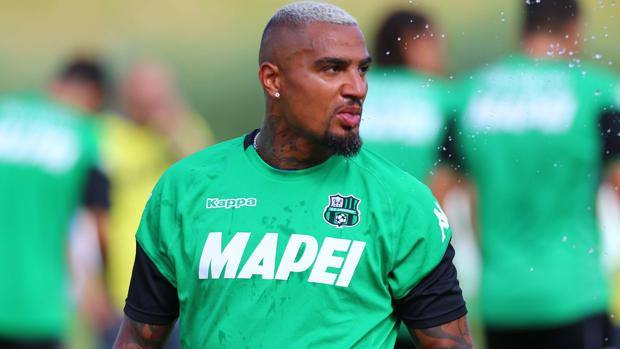 Sassuolo midfielder Kevin Boateng tosses with idea of becoming a coach in future