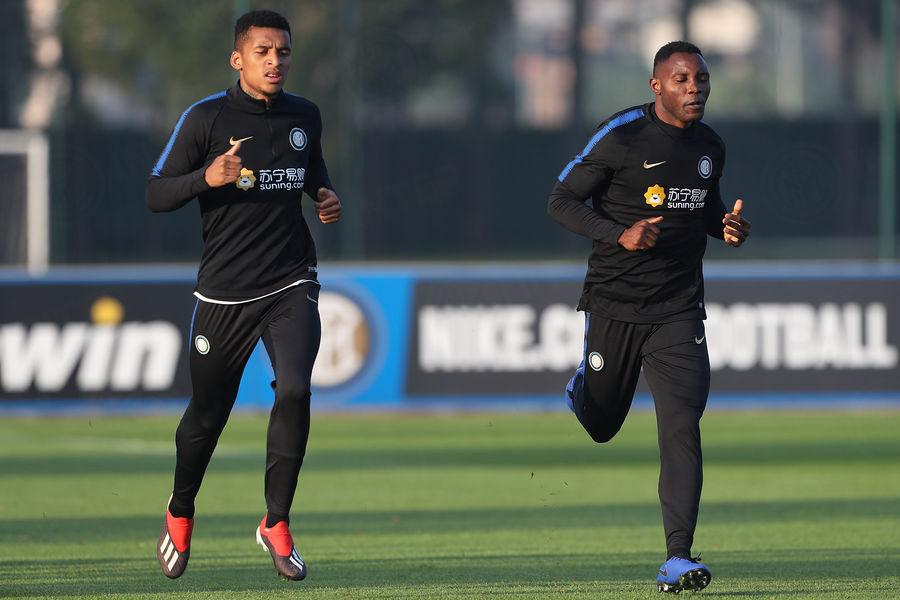 PHOTOS: Kwadwo Asamoah returns to Inter Milan training despite injury claim