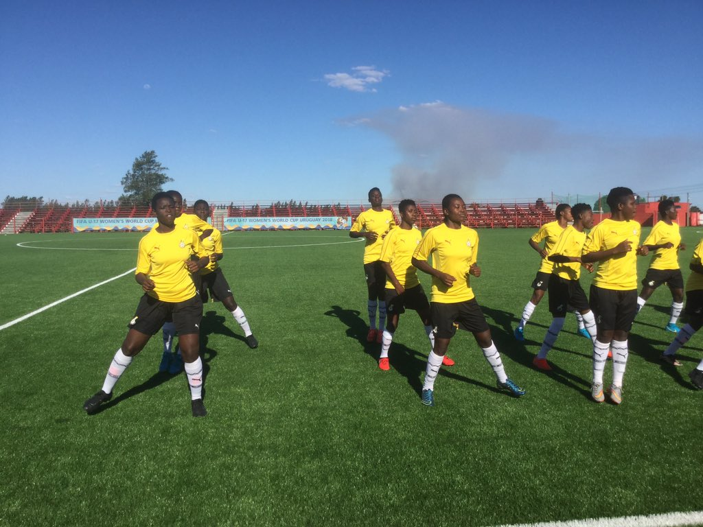 PHOTOS: Black Maidens prepare ahead of New Zealand clash
