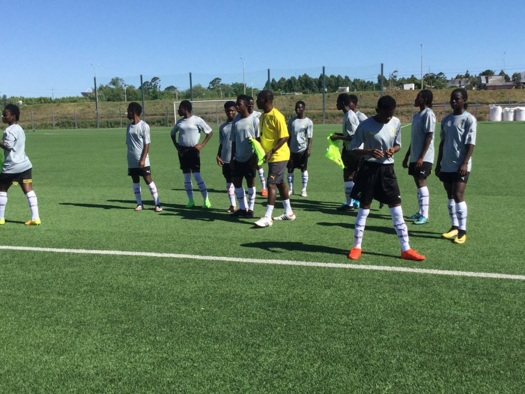 PHOTOS: Black Maidens wrap up preparations ahead of Finland game