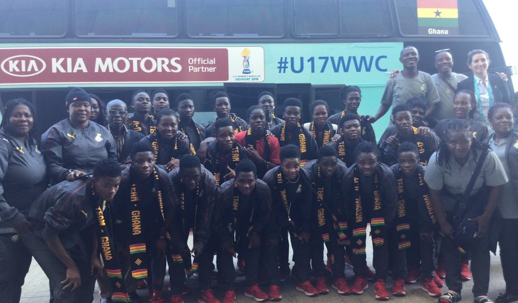 Black Maidens arrive in Uruguay ahead of FIFA U-17 Women\'s World Cup