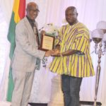 PHOTOS: Medeama chief Moses Armah honoured in Canada for contribution to football