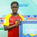Black Maidens hat-trick heroine Abdulai Mukarama excited to win player of the match award in Uruguay hammering