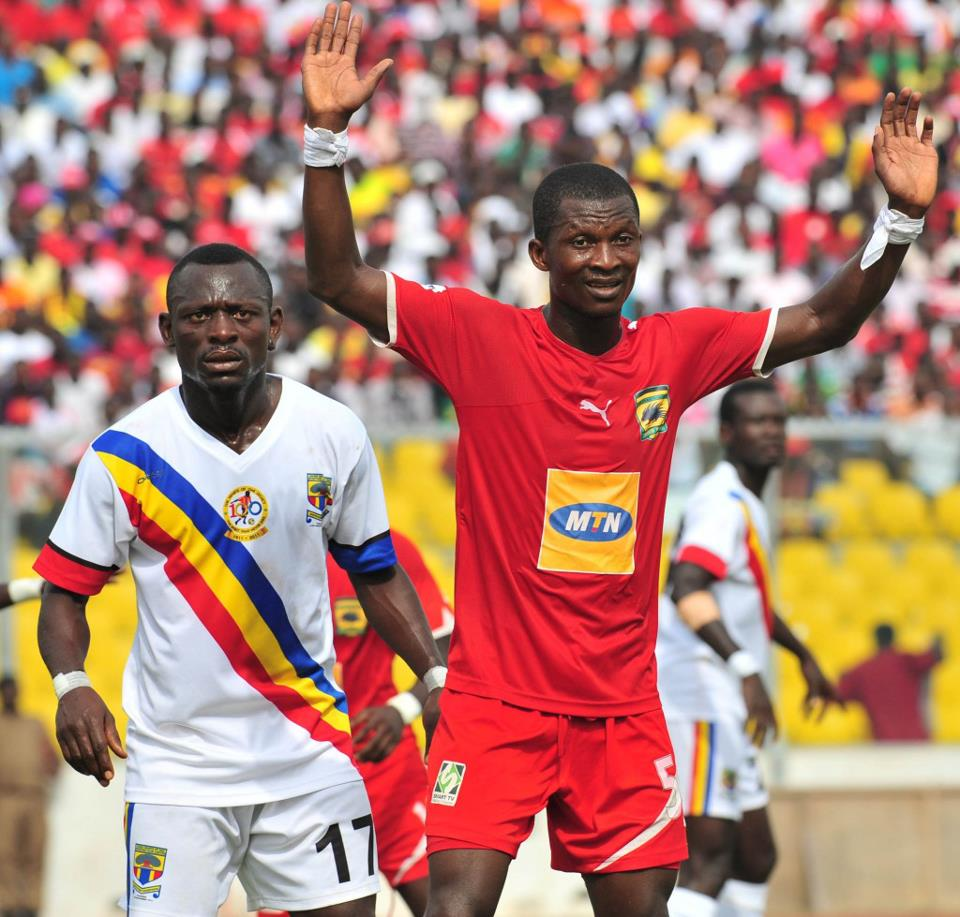 Kotoko to include Nii Adjei and three others in CAF Confederations Cup squad