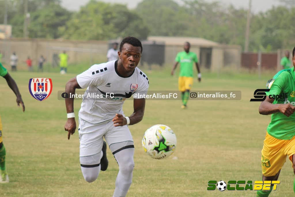 Special Competition: Inter Allies striker Nsungusi Effiong sets sights on golden boot