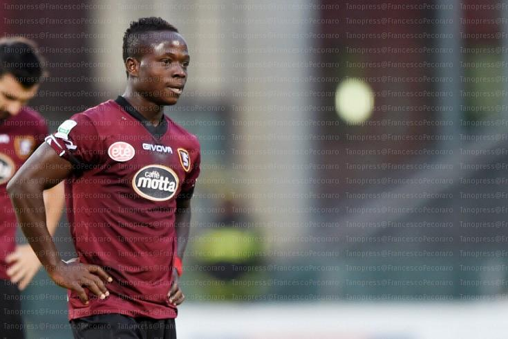 Serie B side Salernitana struggling to find a buyer for misfit Moses Odjer
