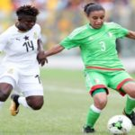 Black Queens midfielder Priscilla Okyere reveals the team was under huge pressure to deliver against Algeria