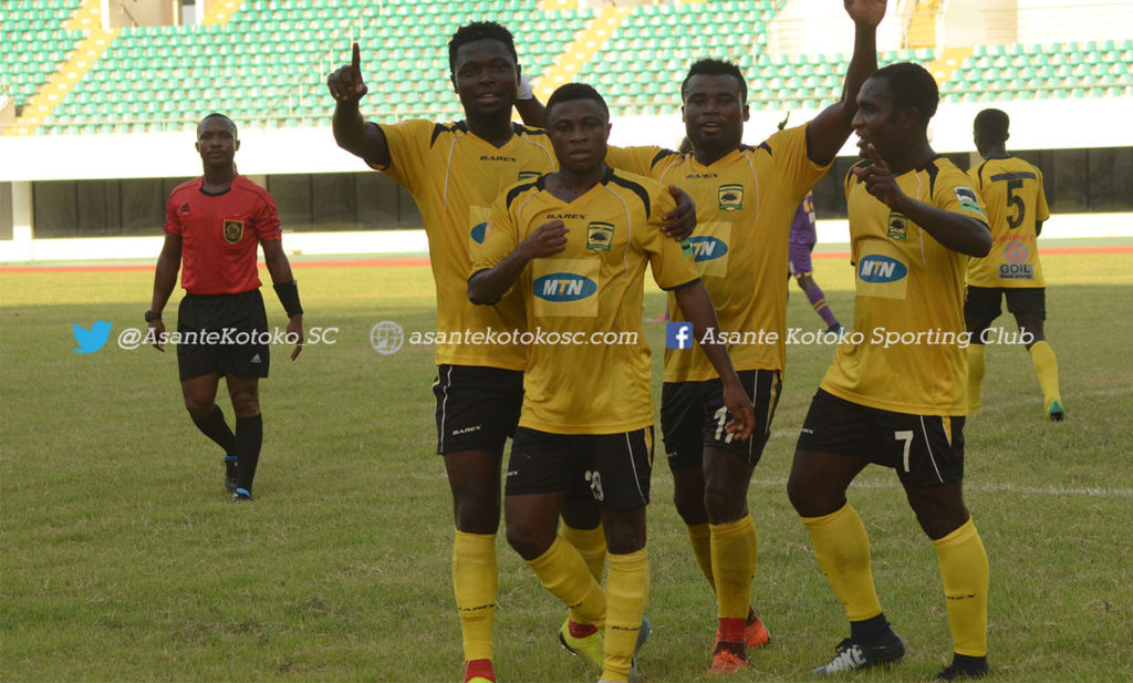 Asante Kotoko held by Medeama SC in friendly