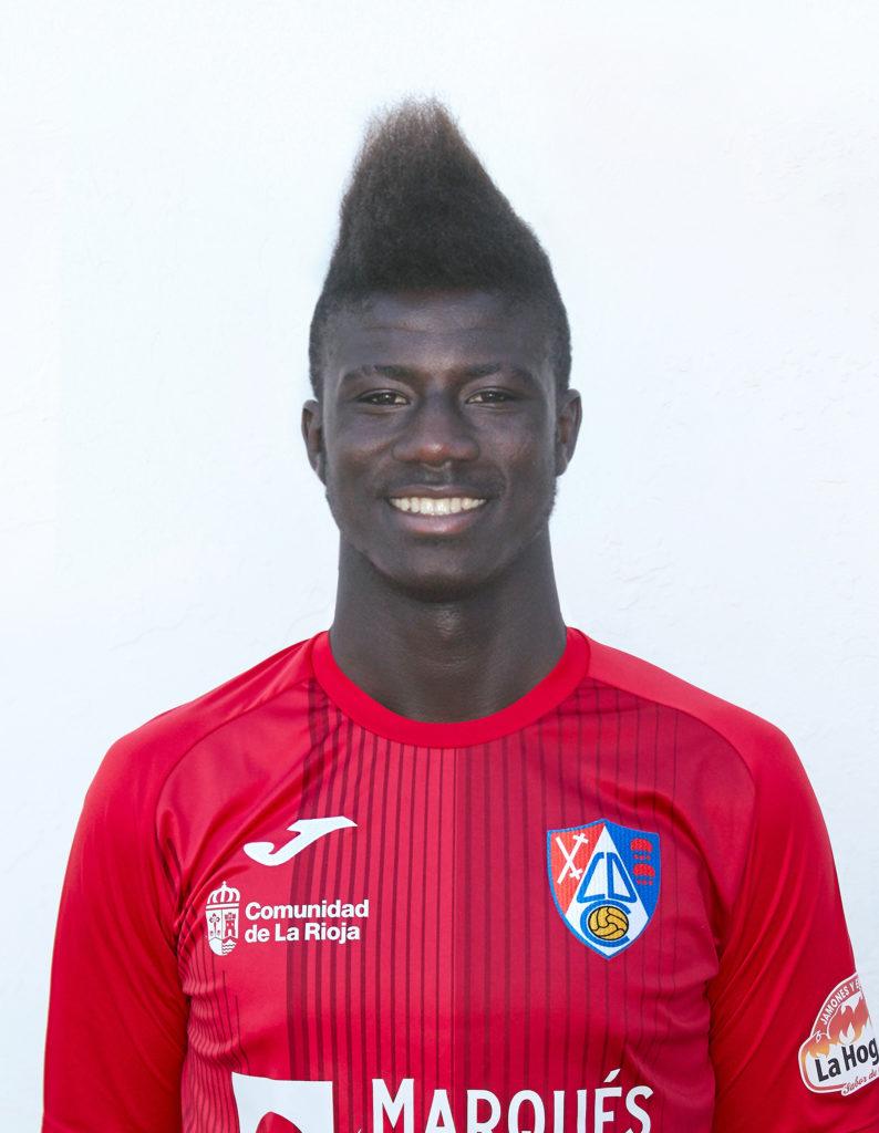 Ghanaian youngster Samuel Obeng returns to CD Calahorra team as the beat Barakaldo in Segunda B