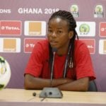 AWCON 2018: Black Queens midfielder Sherifatu Sumaila assures Ghanaians of victory against Cameroon