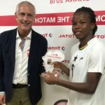 AWCON 2018: Sherrifatu Suleiman adjudged player of the match in Ghana's win over Algeria